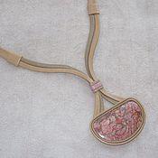 Украшения ручной работы. Ярмарка Мастеров - ручная работа Кулон с яшмой. Handmade.