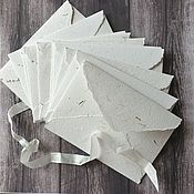 Материалы для творчества handmade. Livemaster - original item Set of 10 envelopes. Handmade.