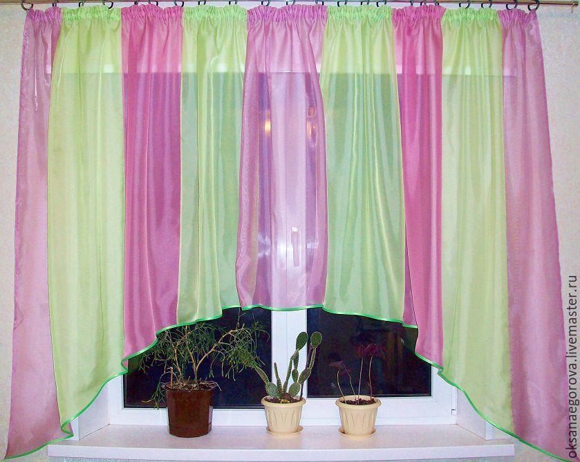 Короткие шторы на кухню   магазине