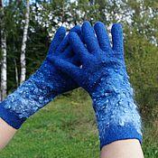 Аксессуары ручной работы. Ярмарка Мастеров - ручная работа Валяные перчатки  1. Handmade.