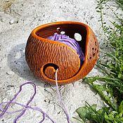 Vases handmade. Livemaster - original item Bowl tangle Lubochnia. Handmade.