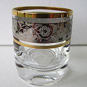 Винтаж handmade. Livemaster - original item The STACK Set - 6 piece CZECH Republic BOHEMIAN GLASS new 60 ml. Handmade.