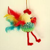 Куклы и игрушки ручной работы. Ярмарка Мастеров - ручная работа Игрушка Петушок. Handmade.