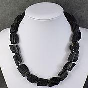 handmade. Livemaster - original item Large natural tourmaline beads