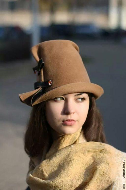"""Шляпы ручной работы. Ярмарка Мастеров - ручная работа. Купить шляпа """"Пилигрим"""". Handmade. Шляпа, демисезонная"""