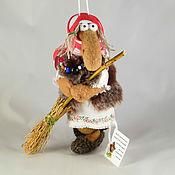 Куклы и игрушки ручной работы. Ярмарка Мастеров - ручная работа Баба-Яга мини-4. Handmade.