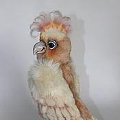 Куклы и игрушки ручной работы. Ярмарка Мастеров - ручная работа Попугай Жоржик.. Handmade.