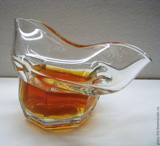 Весёлый стакан для виски. Стекло.