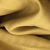 Ткани ручной работы. Ярмарка Мастеров - ручная работа Тафта на вискозе цвет золотой Италия. Handmade.