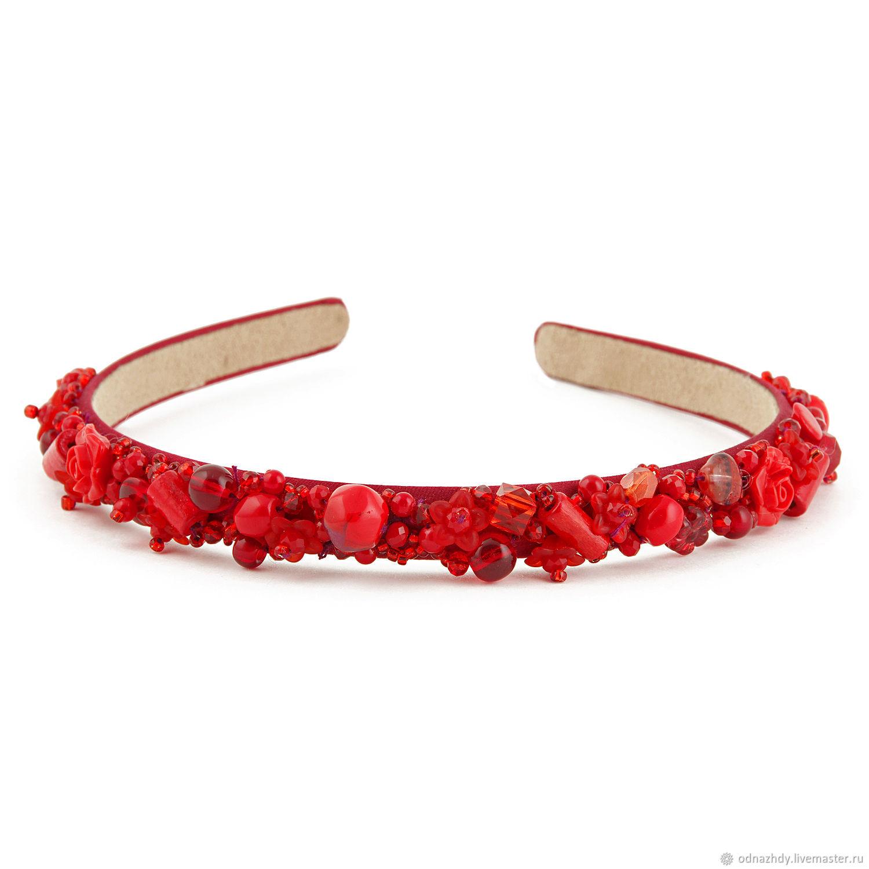 Hair band Red, Headband, Moscow,  Фото №1