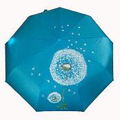 Аксессуары handmade. Livemaster - original item The umbrella, with drawing