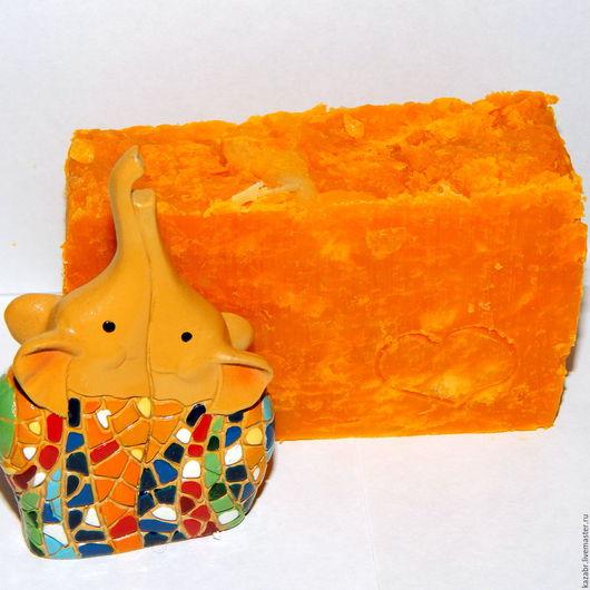 Мыло ручной работы. Ярмарка Мастеров - ручная работа. Купить Мыло Сочный Апельсин, апельсиновое мыло,цитрусовое. Handmade. облепиховое
