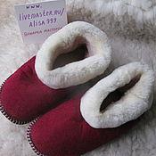 Обувь ручной работы handmade. Livemaster - original item Chuni for adults Mouton. Handmade.