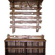 Для дома и интерьера ручной работы. Ярмарка Мастеров - ручная работа мебель для прихожей под старину. Handmade.