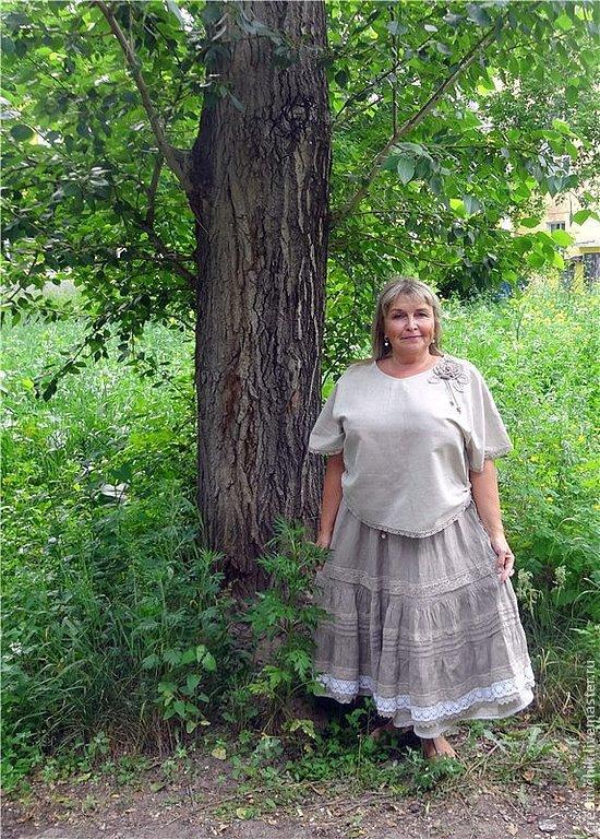 Льняная блузка в Красноярске