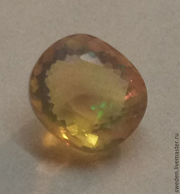 OPAL 0,70 carats, Beads1, Moscow,  Фото №1