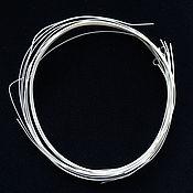 Проволоки ручной работы. Ярмарка Мастеров - ручная работа Проволока 0,24 мм витая для филиграни, скани, серебро 925. Handmade.