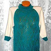 Одежда handmade. Livemaster - original item pullover with openwork. Magic wave. Spokes.. Handmade.