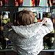 Болеро, шраг ручной работы. Болеро с капюшоном Мерцание. Валеева Асия - ирландское кружево. Интернет-магазин Ярмарка Мастеров. Цветочный