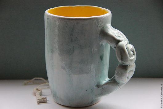 Кружки и чашки ручной работы. Ярмарка Мастеров - ручная работа. Купить Кружка Незнакомка. Handmade. Разноцветный, желтый, 18 лет