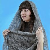 Аксессуары handmade. Livemaster - original item 33 - shawl Orenburg gossamer shawl, accessories. Handmade.