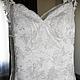 Свадебное платье сшитое на заказ. Пошив свадебных платьев в Москве. Wedding Style Studio. WedStyleStudio