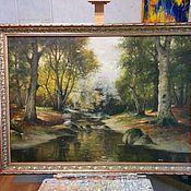 Картины и панно handmade. Livemaster - original item Restoration of paintings. Handmade.