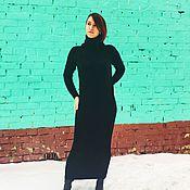 Одежда handmade. Livemaster - original item Big black dress. Handmade.