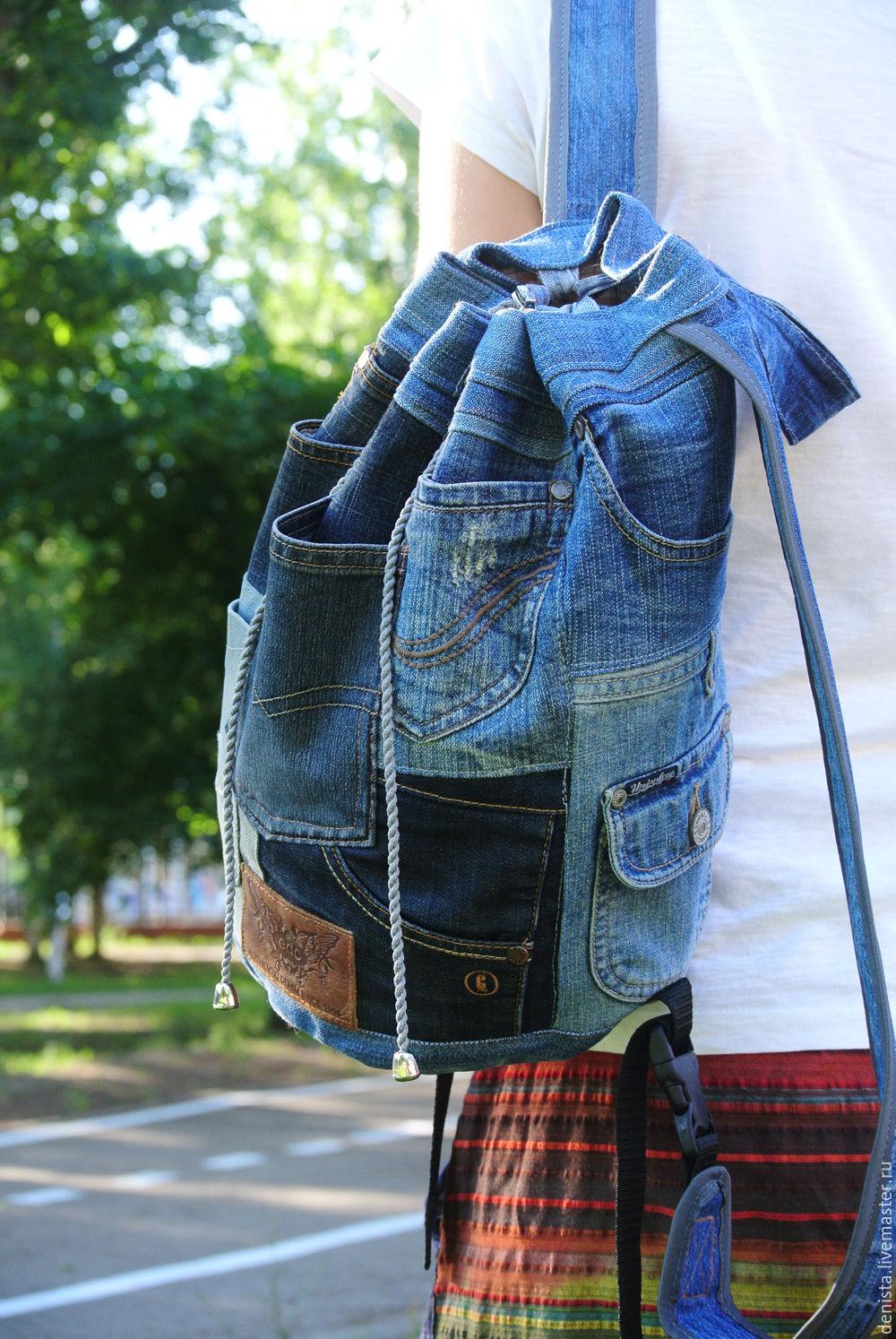 Backpack denim Karman Chick, Backpacks, Saratov,  Фото №1
