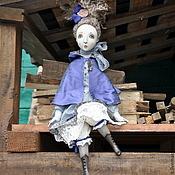 Куклы и игрушки ручной работы. Ярмарка Мастеров - ручная работа Ребекка - подвижная кукла.. Handmade.