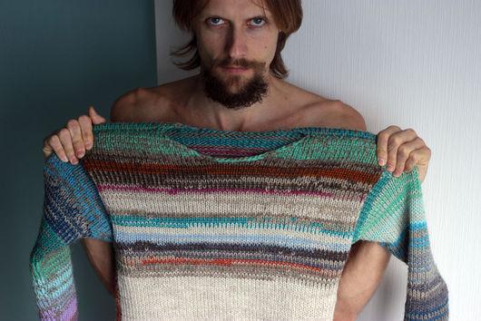 Кофты и свитера ручной работы. Ярмарка Мастеров - ручная работа. Купить фэшын. Handmade. Вязайн, свитер унисекс, шерсть женская