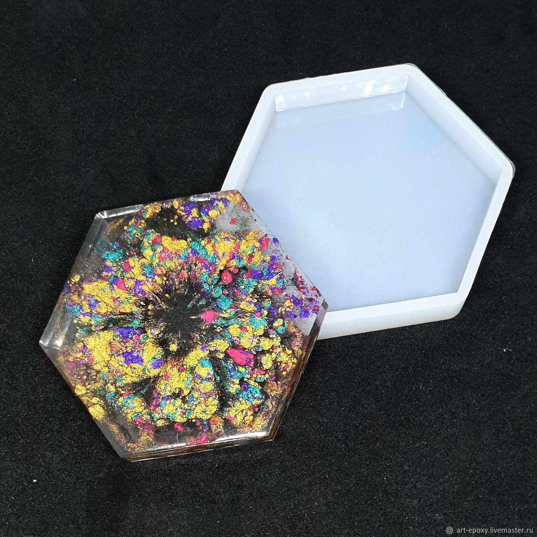 Mold ' Hexagon', Molds for making flowers, Volgograd,  Фото №1