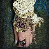 Украшения ручной работы. Ярмарка Мастеров - ручная работа Браслет -манжет Ундина. Handmade.