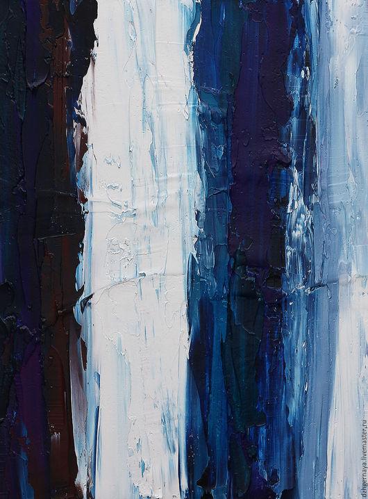 картины маслом абстракция, картина интерьер, купить картину в москве, купить картины художников, купить картину на стену, купить картину недорого, синяя картина, голубая картина, картина море заказать