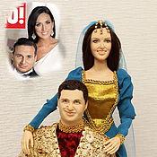 Куклы и игрушки ручной работы. Ярмарка Мастеров - ручная работа Портретные куклы к годовщине свадьбы. Handmade.