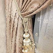 Для дома и интерьера handmade. Livemaster - original item CURTAINS: Set of curtains and tulle