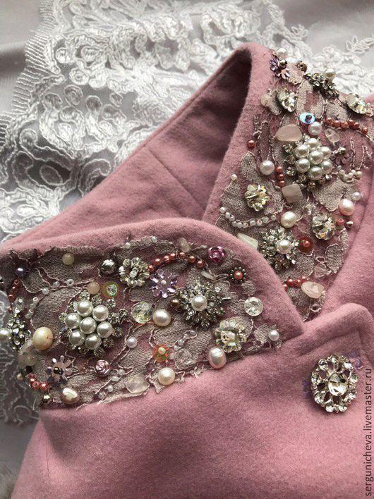 """Верхняя одежда ручной работы. Ярмарка Мастеров - ручная работа. Купить Пальто""""Princess Anastasia"""". Handmade. Бледно-розовый, пыльная роза"""