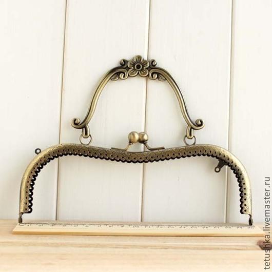 Другие виды рукоделия ручной работы. Ярмарка Мастеров - ручная работа. Купить фермуар 20 см, с металлической ручкой. Handmade.