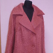 Пальто ручной работы. Ярмарка Мастеров - ручная работа Пальто из мохера - еще вариант. Handmade.