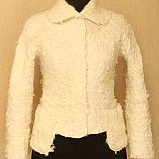 Одежда ручной работы. Ярмарка Мастеров - ручная работа Белый и снежный. Handmade.