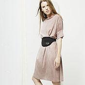 """Одежда ручной работы. Ярмарка Мастеров - ручная работа Платье-футболка из трикотажа """"Pink"""". Handmade."""
