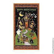 Материалы для творчества ручной работы. Ярмарка Мастеров - ручная работа Купон Scaredy Cats, 60 х110 см. США. Handmade.