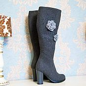 """Обувь ручной работы. Ярмарка Мастеров - ручная работа Валенки """"Ксения"""". Handmade."""