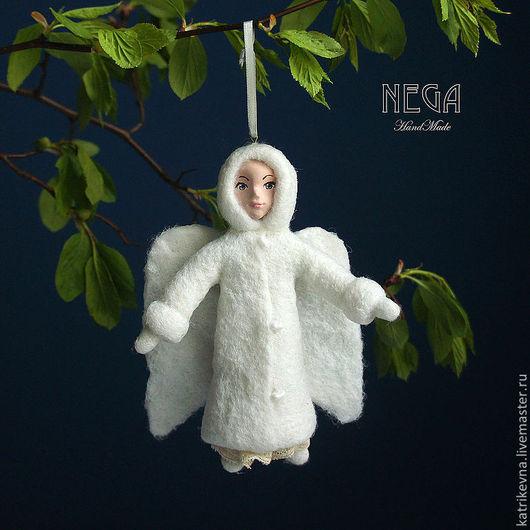 Подарки для влюбленных ручной работы. Ярмарка Мастеров - ручная работа. Купить Весенний ангел. Handmade. Белый, подарок на свадьбу