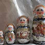 Русский стиль handmade. Livemaster - original item Russian winter%#%5mest. Handmade.