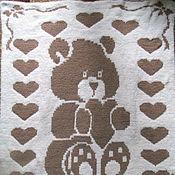 """Работы для детей, ручной работы. Ярмарка Мастеров - ручная работа Двухсторонний детский плед """"Мишка"""". Handmade."""