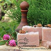 """Косметика ручной работы. Ярмарка Мастеров - ручная работа Натуральное мыло """"Шелк и роза"""" с нуля. Handmade."""
