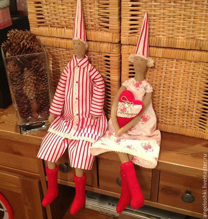 Christmas gnomes, Tilda Dolls, Moscow,  Фото №1