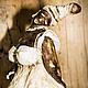 Коллекционные куклы ручной работы. Леона. Elena Sashina. Интернет-магазин Ярмарка Мастеров. Кукла, коричневый, маслянные краски