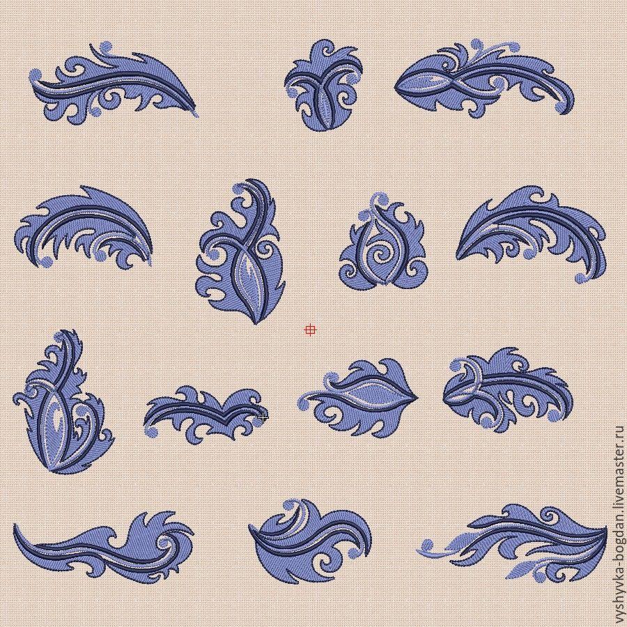 Дизайны от забавы машинная вышивка 18